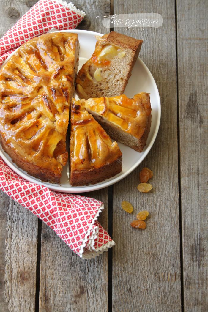 Veganer - Apfelkuchen