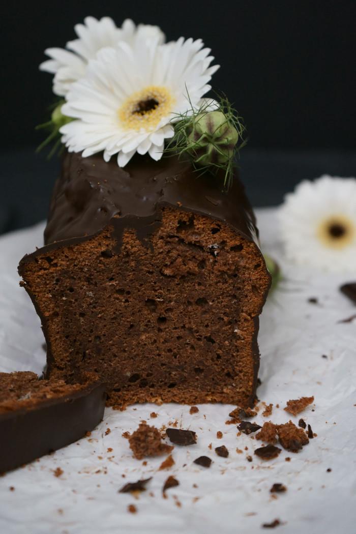 Schokoladenkuchen mit Cointreau