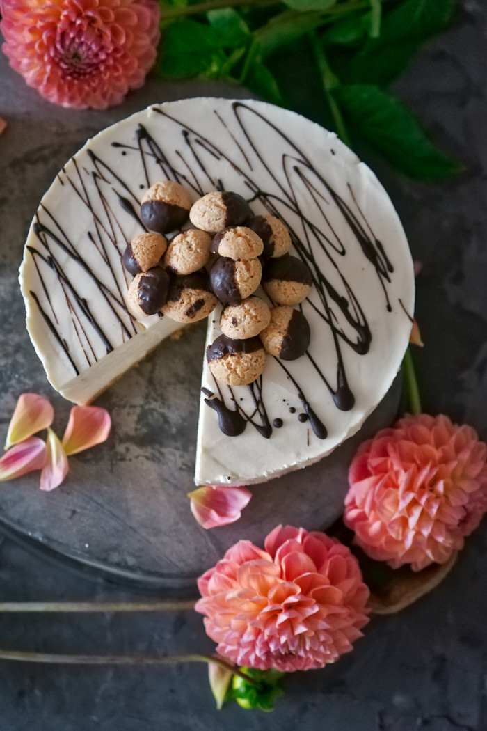 Amaretto Cheesecake no-bake