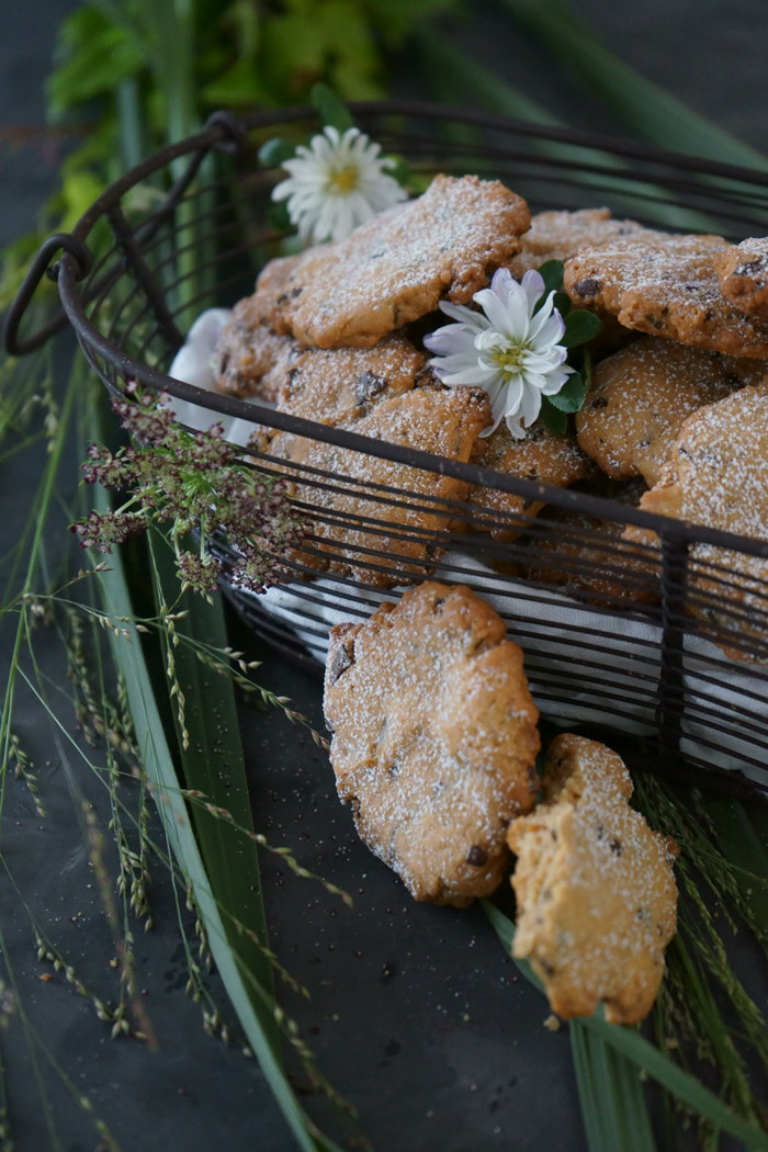 Erdnuss Cookies mit Flor de Sal