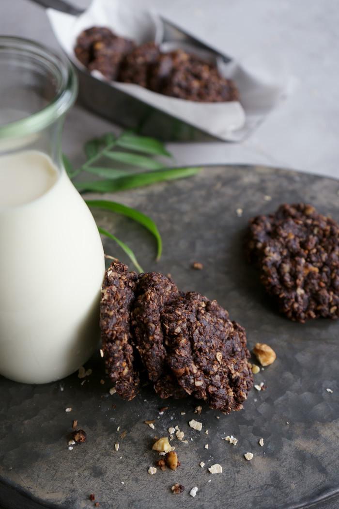 5 Minuten Chocolate Cookies no-bake