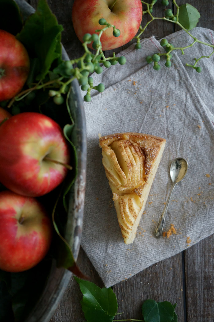 Apfel-Haselnusskuchen mit Zucker-Zimt-Kruste