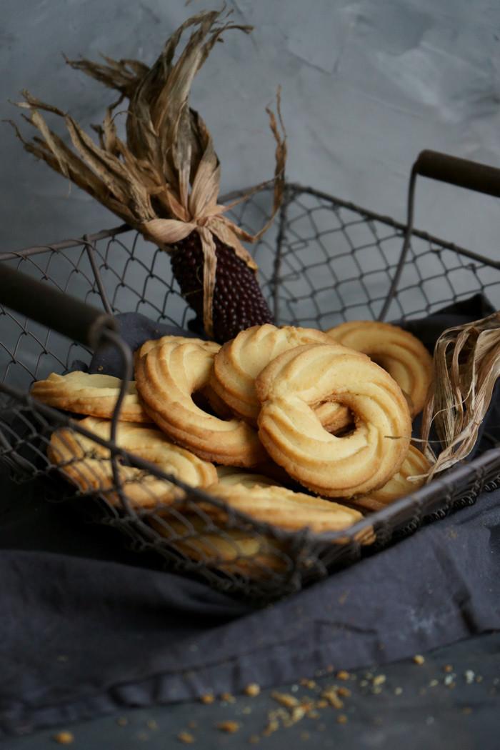 Dänische Vanillekränze
