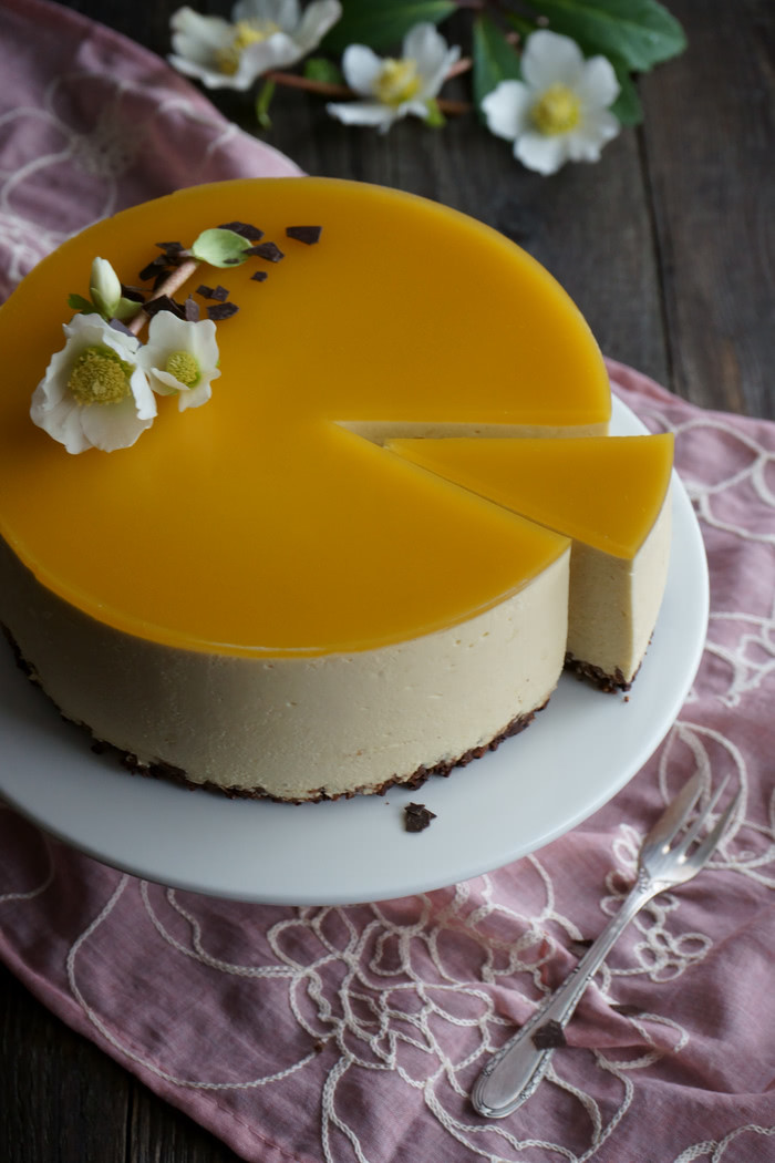 Mango Cheesecake no-bake