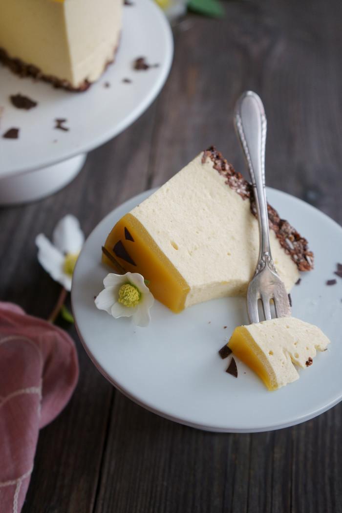 Mango Cheesecake no-bake