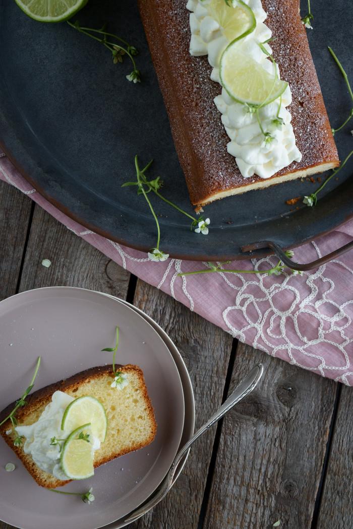 Limettenkuchen – luftig und leicht