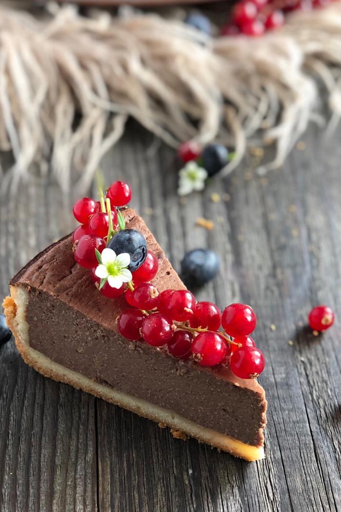 Schokoladen-Käsekuchen cremig & lecker