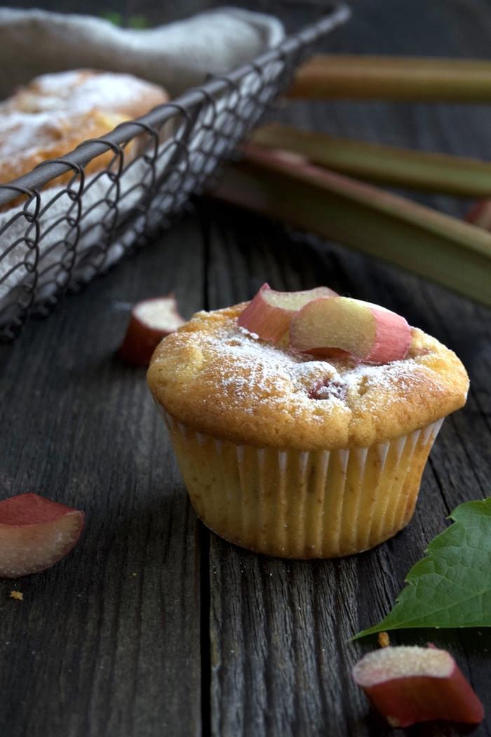 Rhabarber Muffins