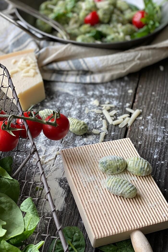 Spinat Parmesan Gnocchi