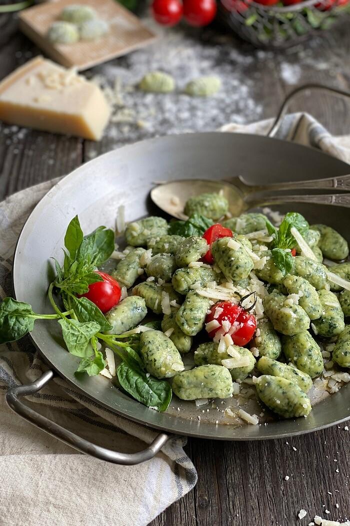 Spinat Parmesan Gnocchi – unglaublich lecker! - Lissi's Passion
