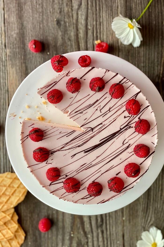 Himbeer-Cheesecake no-bake