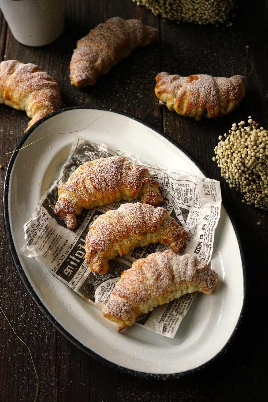 Marzipan-Schoko-Croissants - einfach & schnell