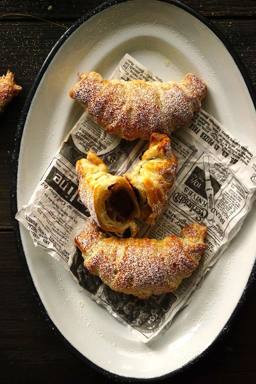 Marzipan-Schoko-Croissants – einfach & schnell