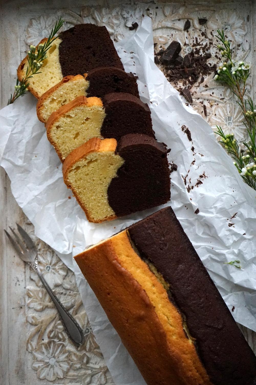 Schokoladen - Vanille - Kuchen