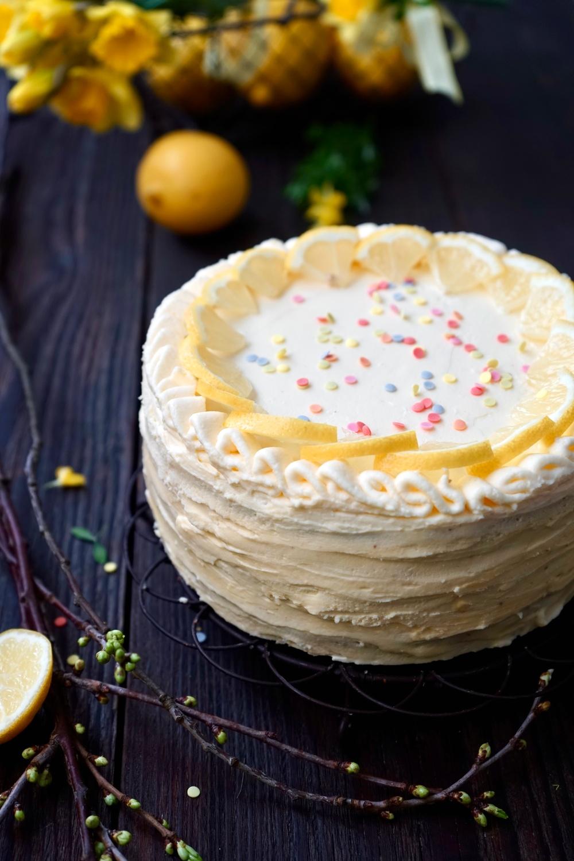 Lemon Curd Torte
