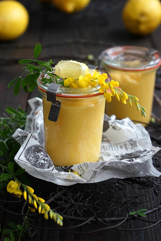 Lemon Curd – klassisch einfache Zitronencreme