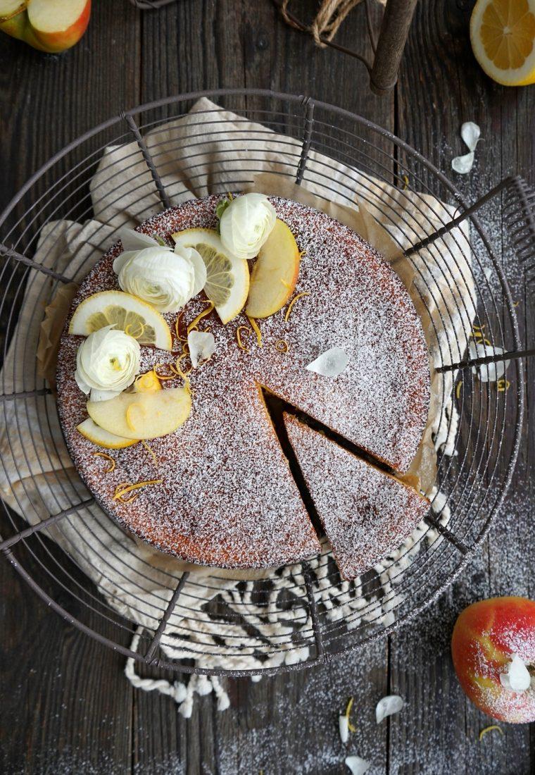 Apfel-Quarkkuchen in 20 Minuten gemacht!