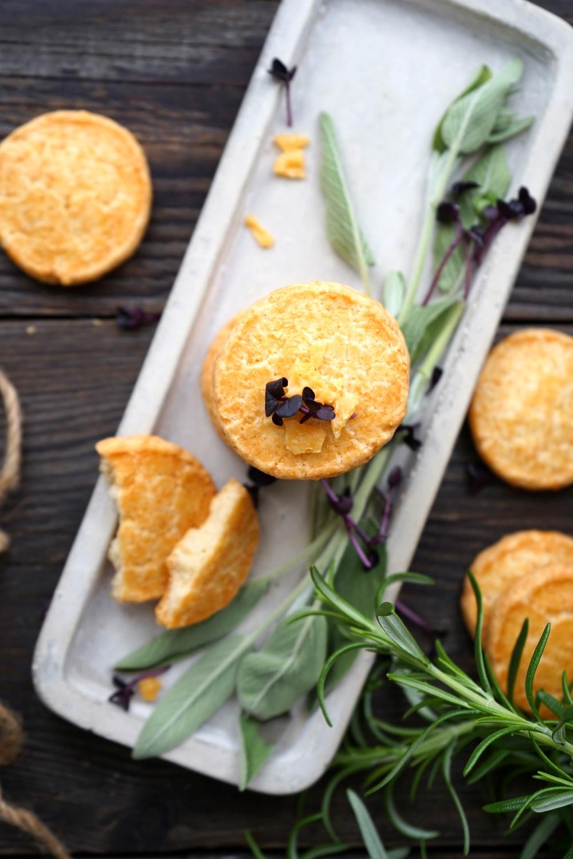 Parmesan Plätzchen – einfach & schnell